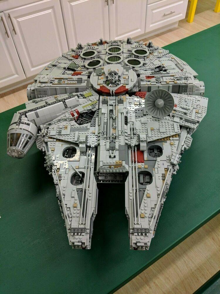 Lego 75192 Star Wars Millennium Falcon Ucs Ultimate Collectors 100 Complete Lego Millenium Millennium Falcon Lego Millenium Falcon
