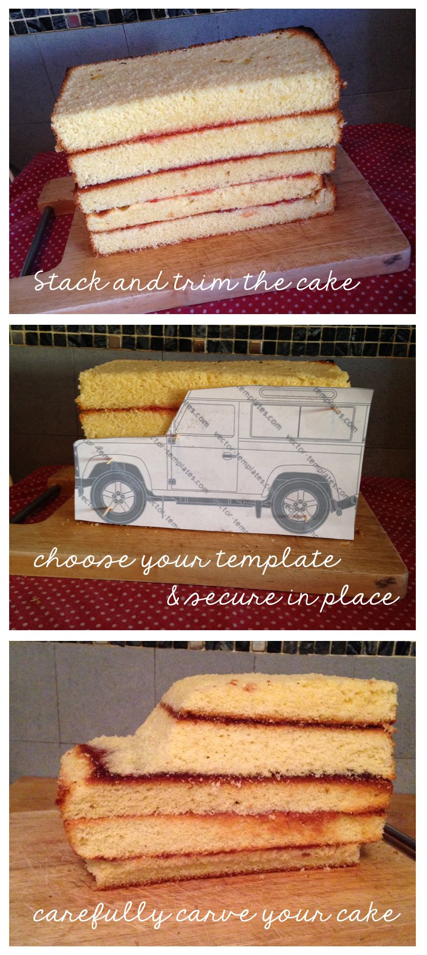 Landrovercaketutorial1 car cakes pinterest cake tutorial landrovercaketutorial1 sculpted cakescar cakescar cake tutorialfondant baditri Gallery