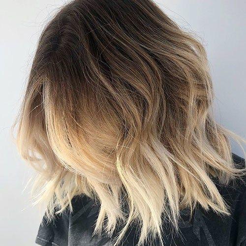 Beautiful Brown To Blonde Ombre Short Hair With Images Blonde Ombre Short Hair Short Ombre Hair Short Hair Balayage