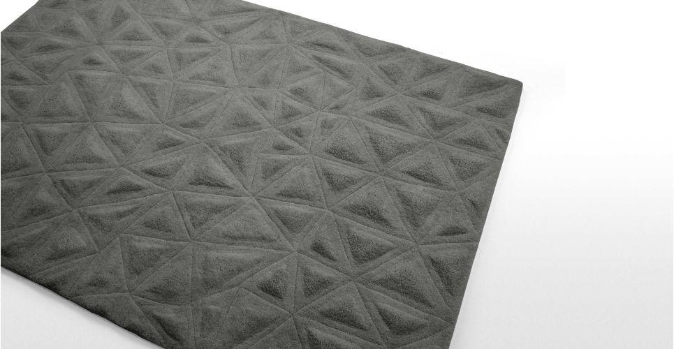 Tekari vloerkleed 160 x 230cm, grijs | made.com