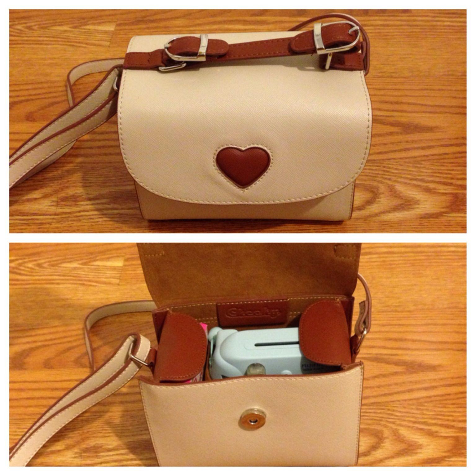 Loving my new camera case...i.e. my new purse. Made to fit the Fujifilm instax mini 8