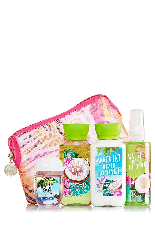 Bath And Body Works Gift Set Waikiki Beach Coconut Tried