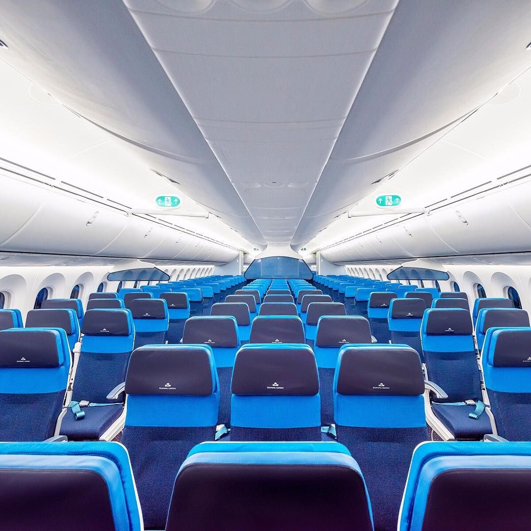 The new economy comfort class in our boeing 787 for Interior 787 air europa