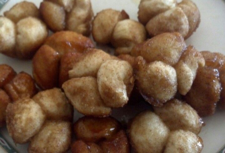 """Mini Monkey Bread """"muffins"""". 1can 7.5 Oz Biscuits 1c Brown"""