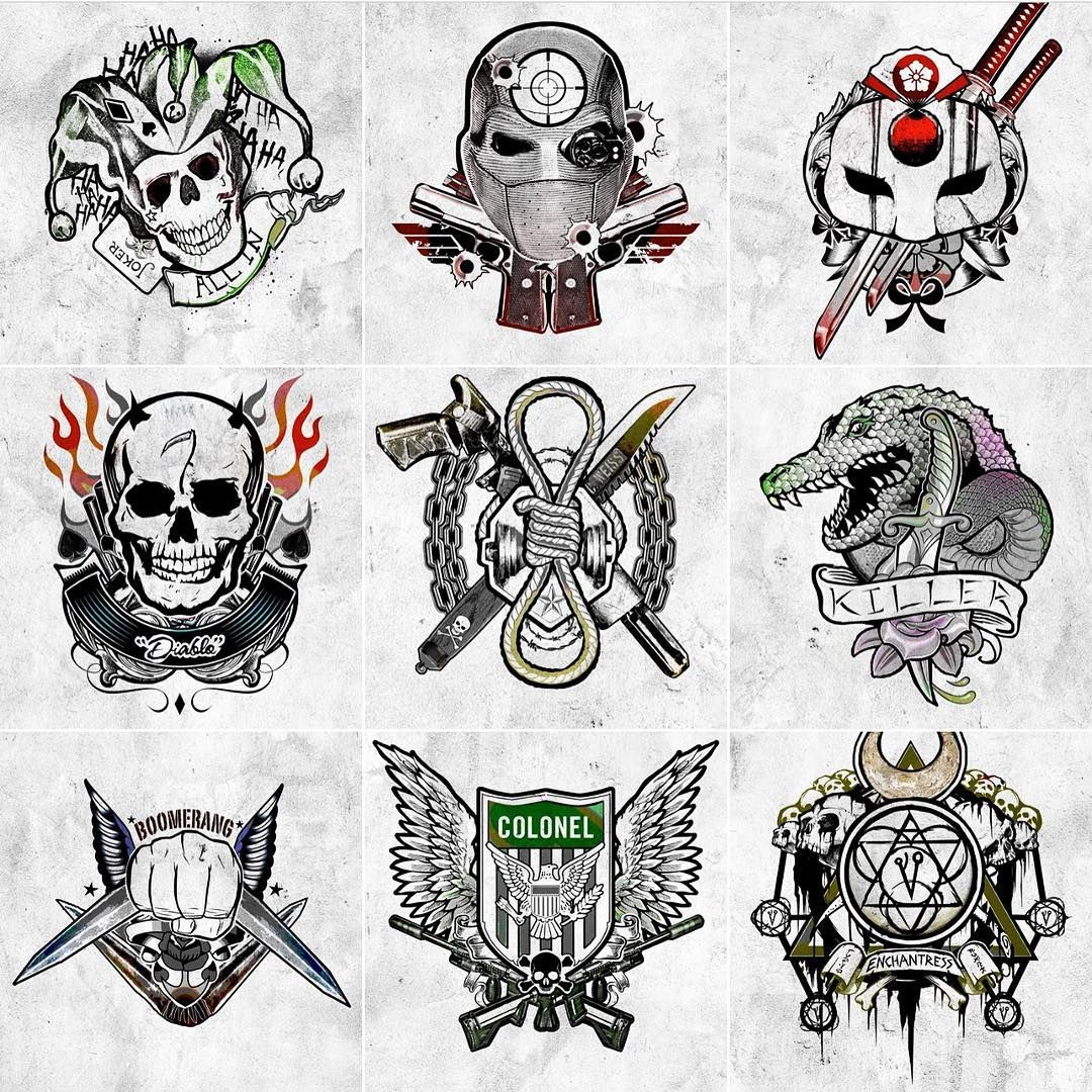 Harley 39 s tattoo parlor suicide squad suicide squad xd for Tattoo places in dc
