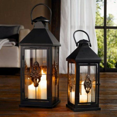 Metal European Style Hanging Candle Lantern Product