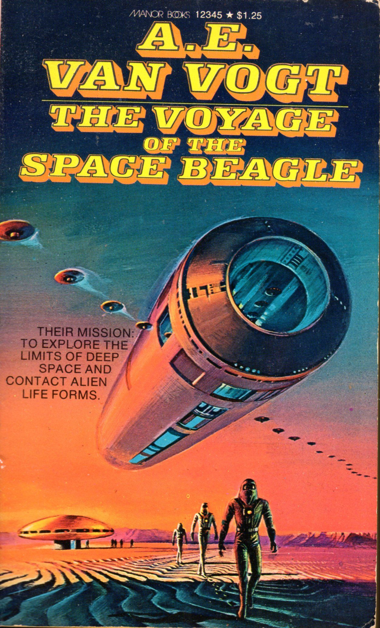 Voyage Of Space Beagle - . Van Vogt Books