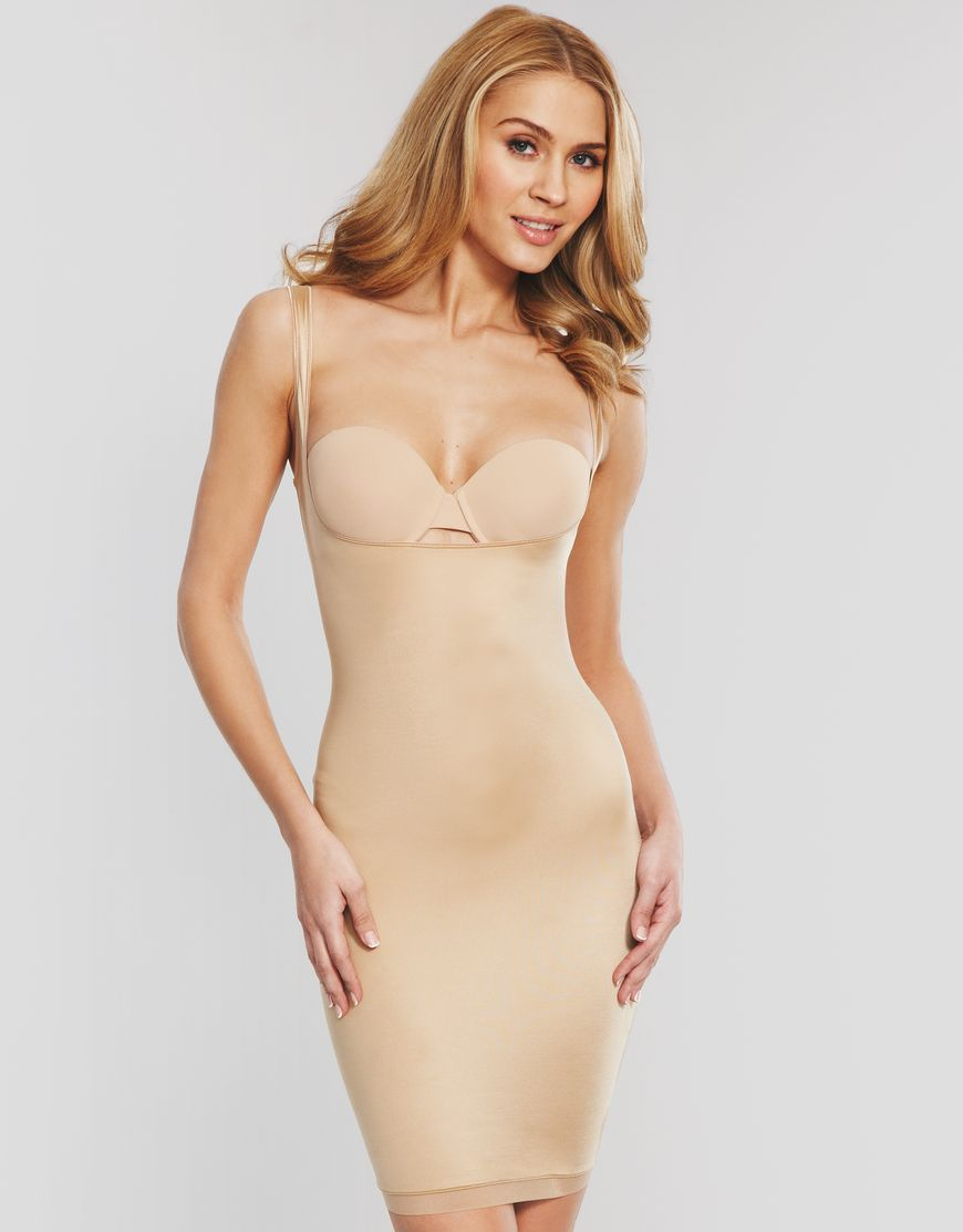 0f15aa727c Slimplicity Open Bust Full Slip by Spanx at figleaves.com