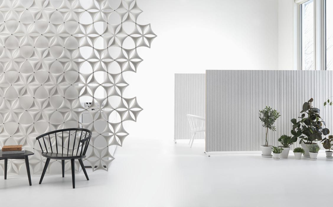 Airflake Airflake acoustic room divider Creative Ideas