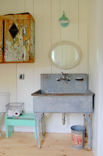 Barn light electric sconce sink from city farmhouse - Barn style lighting for bathroom ...