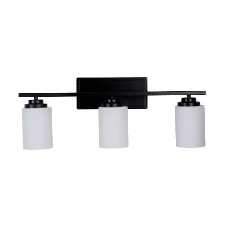"Photo of Craftmade 39703-OB Oiled Bronze Albany 3 Light Bathroom Vanity Light – 25 ""wide"