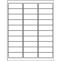 Free Avery Templates Address Label 30 Per Sheet Return Address Labels Template Address Label Template Free Address Labels