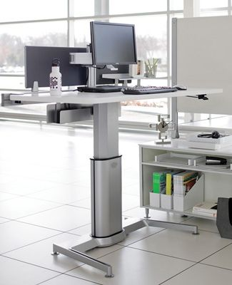 Strange Steelcase Airtouch Table Adjustable Height Desk This One Download Free Architecture Designs Sospemadebymaigaardcom
