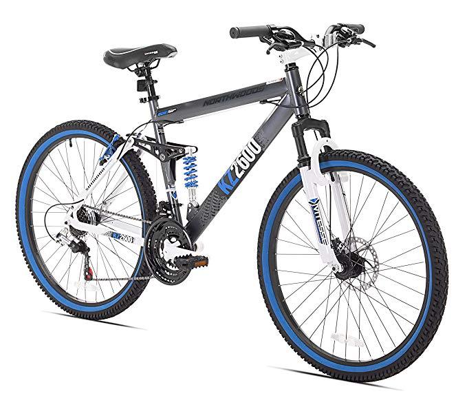 Amazon Com Kent Kz2600 Dual Suspension Mountain Bike 26 Inch