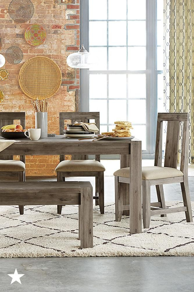 Furniture Canyon Dining Furniture Collection Created For Macy S Reviews Furniture Macy S Furniture Collection Modern Furniture Furniture Design Modern