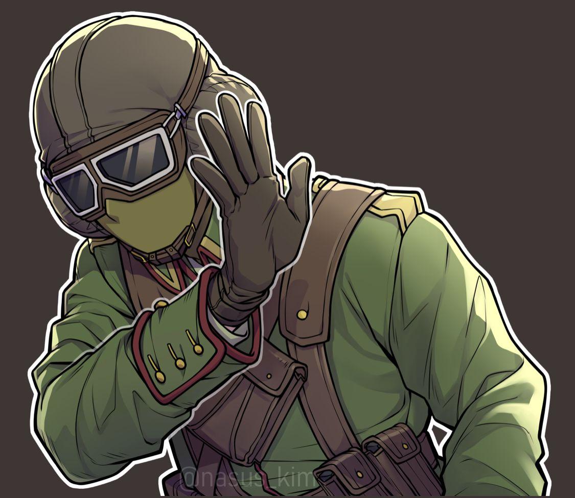 Flying Ace Jager Elite Skin Rainbow Six Siege Art Rainbow Meme