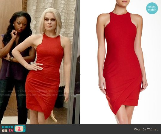 S club 7 red dress cocktail