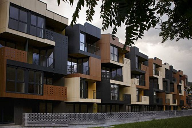 Contemporary Apartment Buildings stunning tetris apartments exterior decorating | housing