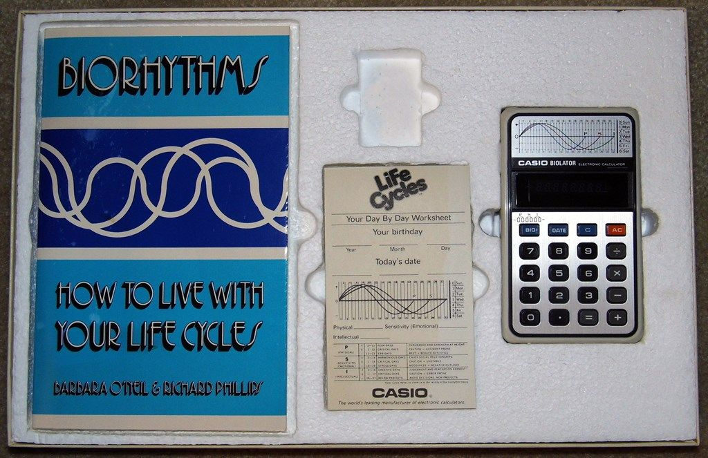 Vintage Casio Biolater Electronic Calculator Set, Model H-801, Made ...