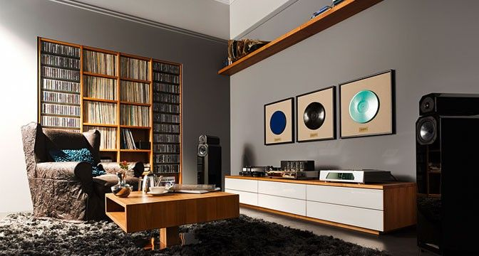 Cubus Wall Units - Viewing And Listening Pleasure
