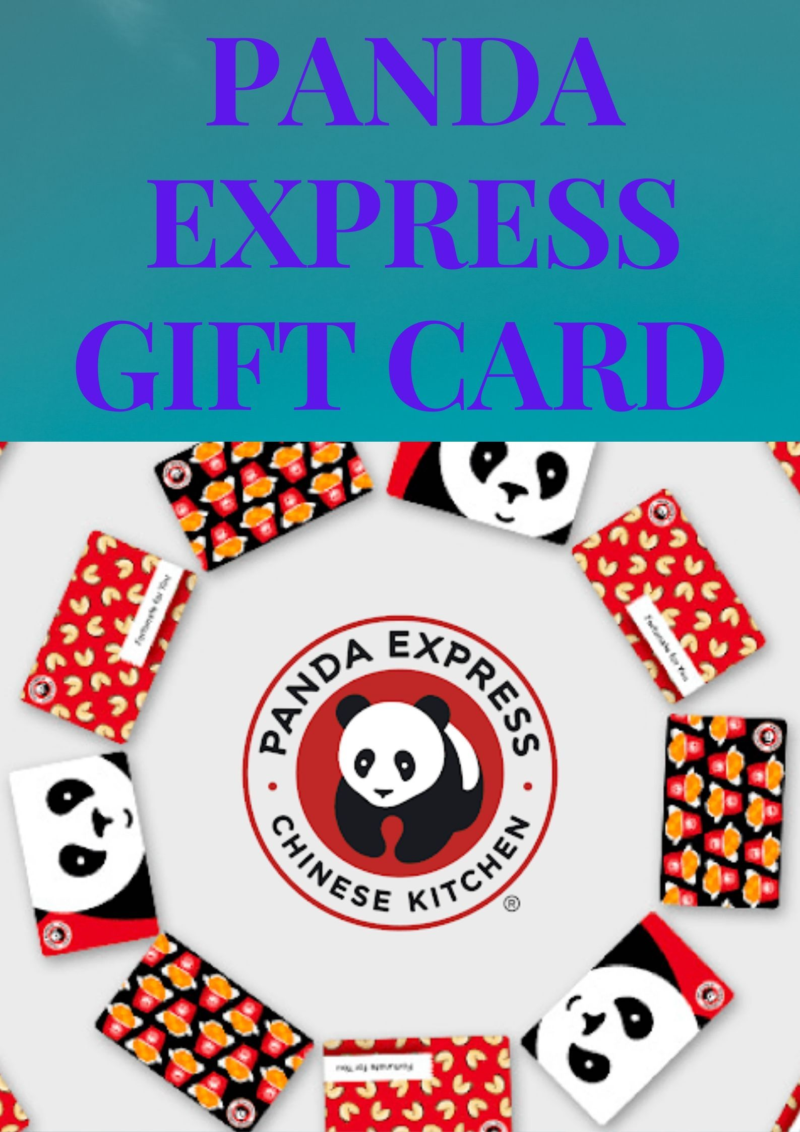 Get a 100 panda express gift card enjoy delicious and