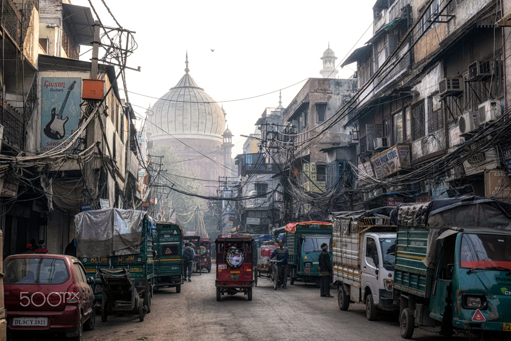 Chandni Chowk Old Delhi by Aaron Choi / 500px in 2020
