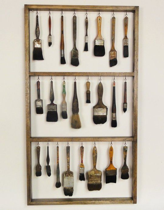 6 astuces pour ranger les pinceaux dans l 39 atelier et les. Black Bedroom Furniture Sets. Home Design Ideas