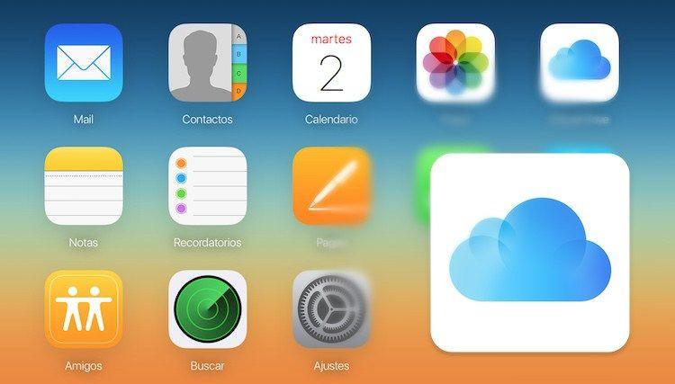 Así es iCloud en su versión web, para todos los equipos y sistemas