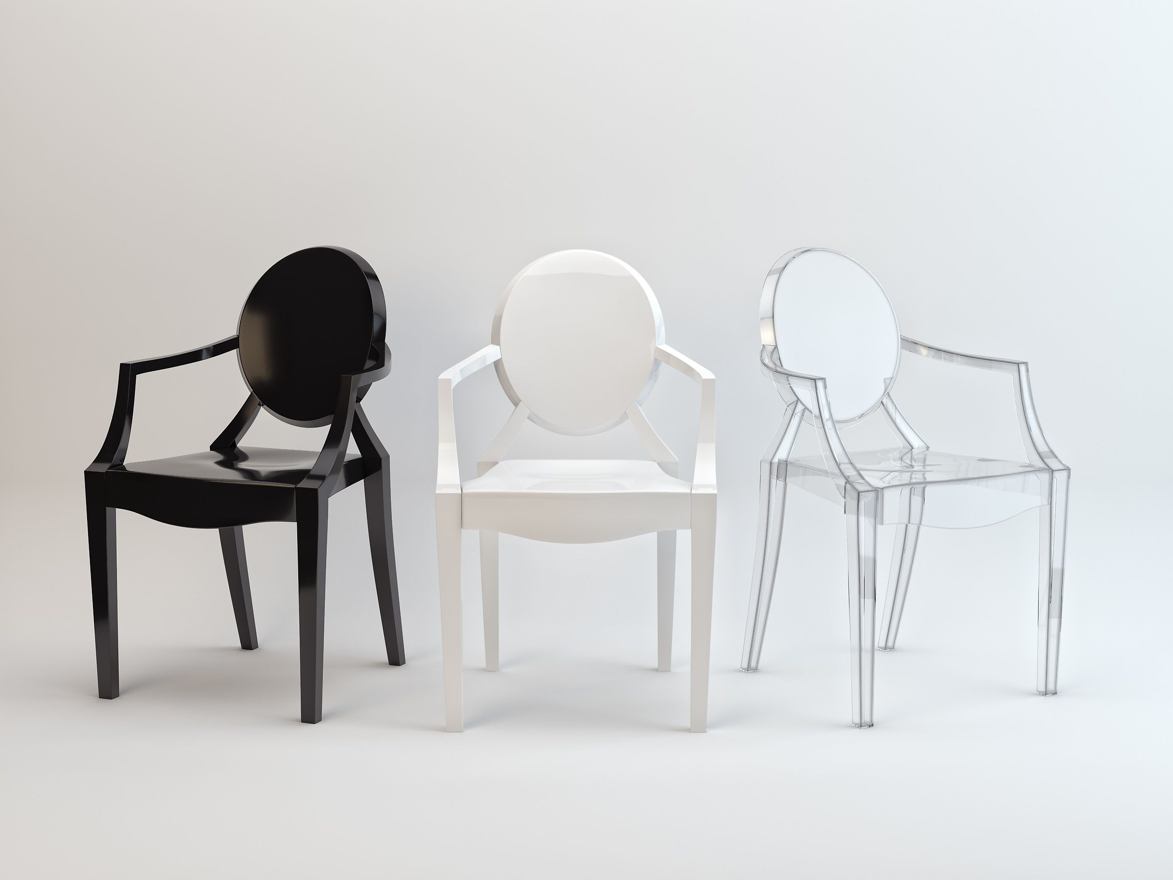 philippe starck ghost louis kartell chair at john for lewis
