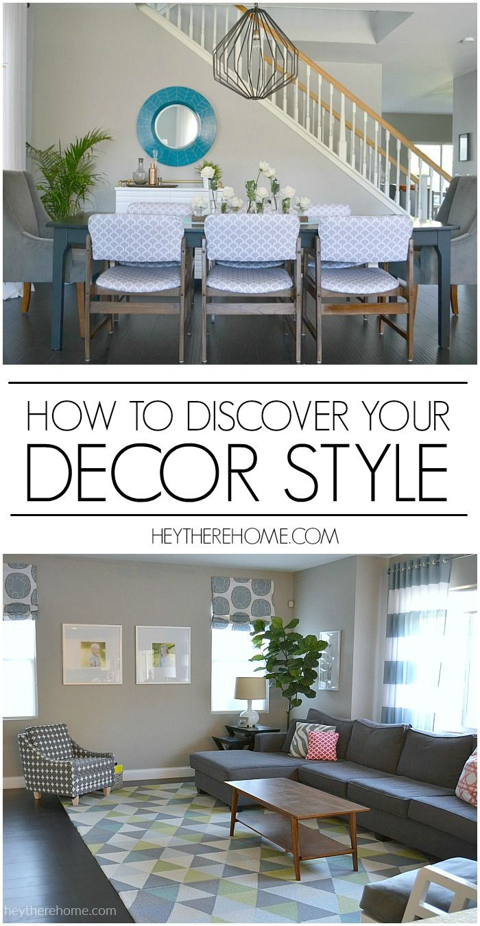 How to Discover Your Decor Style | Random, Create and Decor styles