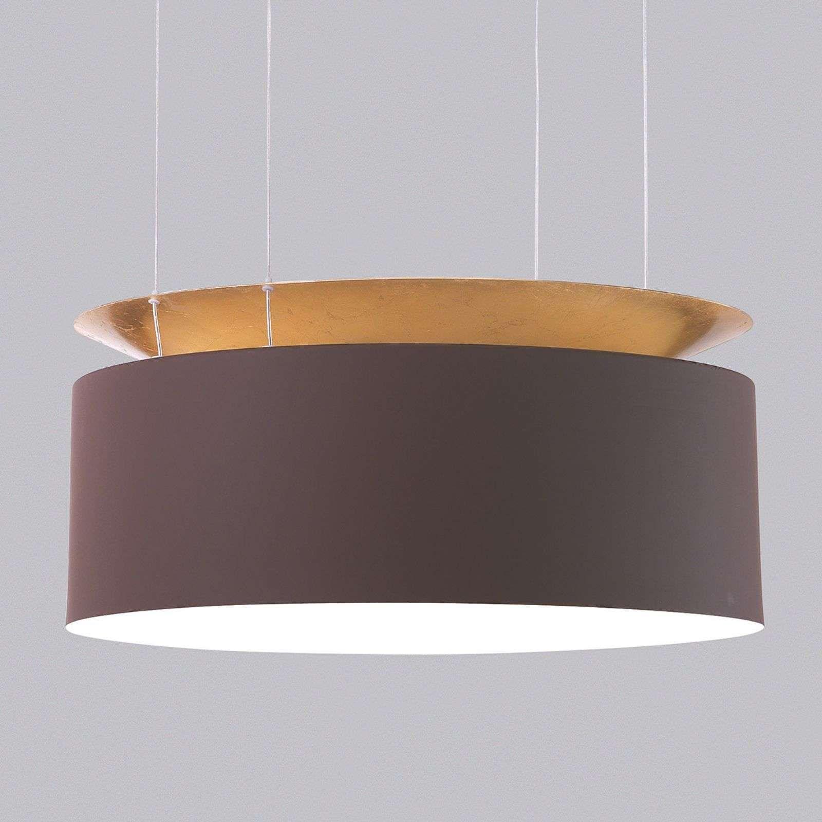 Goudbruine Led Hanglamp Eclisse Hangeleuchte Led Hangeleuchte Led