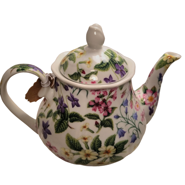 Photo of Botanical Tea Teapot with Tea Gift