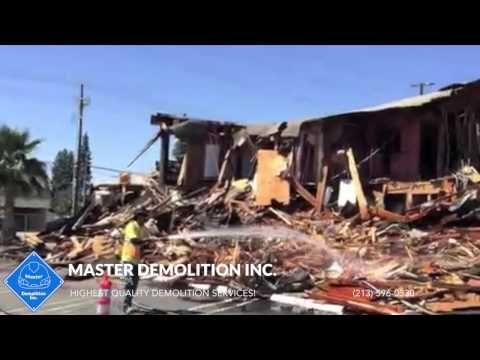 Commercial Demolition Services (213) 596-0330 http://masterdemolitioninc.com/commercial-demolition-services/