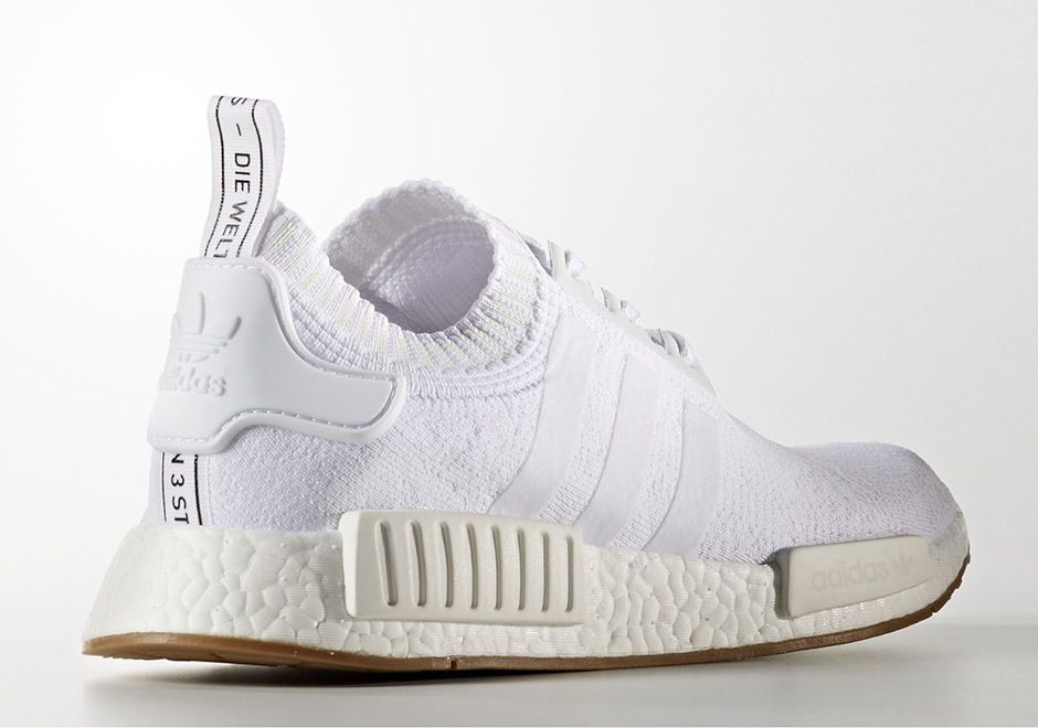 Find out all the latest information on the adidas NMD White Gum, including  release dates, prices and where to cop.