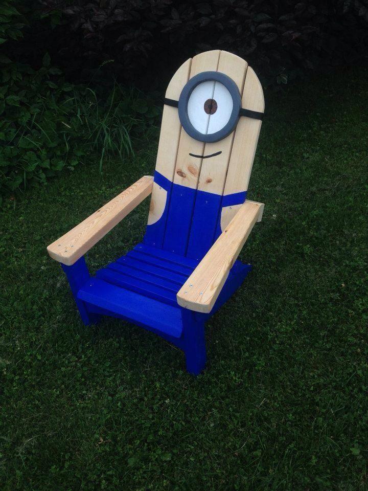 Minion Stuart adirondack muskoka chair adirondackchairs
