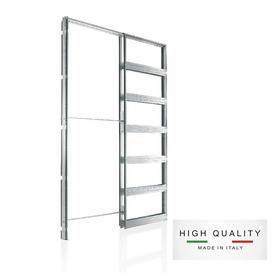 Eclisse Pocket Door Frame For Common Size 51 0 In X 4 5 In Door Slab 9202070 Frame With Images Pocket Doors Pocket Door Hardware Pocket Door Frame