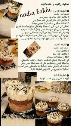 تحلية اقتصادية Pindhouse Food Recipies Sweet Recipes Sweets Recipes