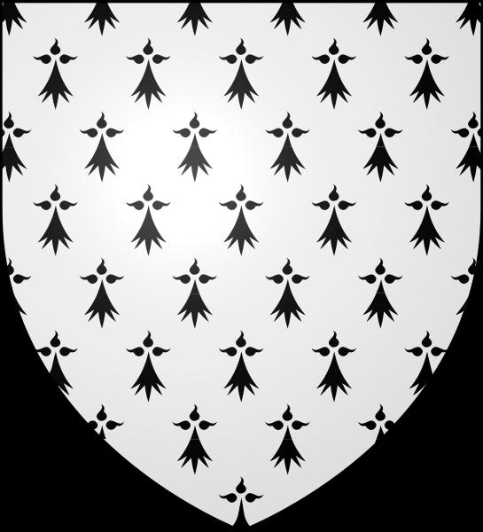 Rennes Flag Lapel Pin Badge France