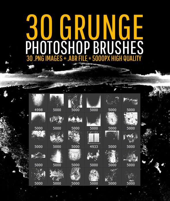 30 Grunge Photoshop Brushes by jamesdoesdesign 30 Grunge Photoshop Brushesfloor old grunge decay scratch dust paint cement tape dirt hair door splatter vent ...  sc 1 st  Pinterest & 30 Grunge Photoshop Brushes | Photoshop Grunge and 30th
