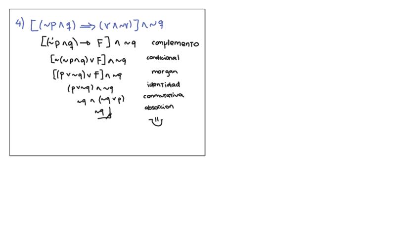 Leyes del Algebra de Proposiciones Las leyes de la algebra de proposiciones son equivalencias lógicas que se pueden demostrar con el desarro...