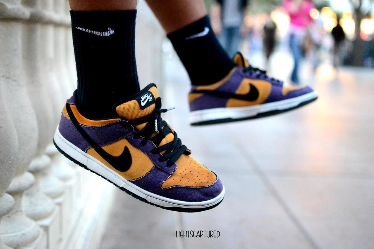 Nike SB Dunk Lows. \
