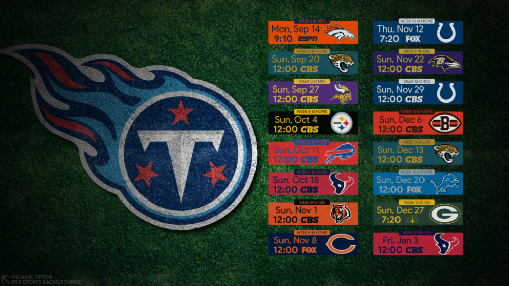 Pin on 2020 NFL Desktop Schedule Wallpapers