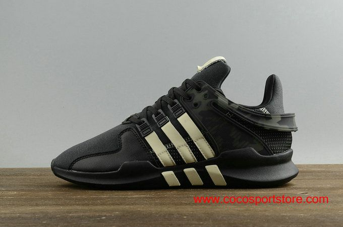 brand new 3acb3 a41b1 adidas MI EQT Support ADV UNDF Black White Suede BY2598 Mens Originals