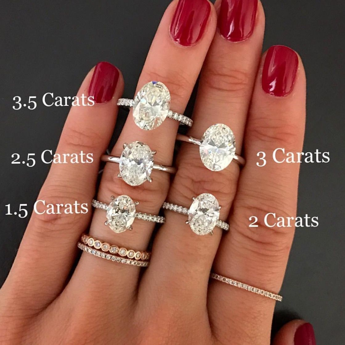 The 3 Carats One Wedding Rings Oval Perfect Engagement Ring Best Engagement Rings