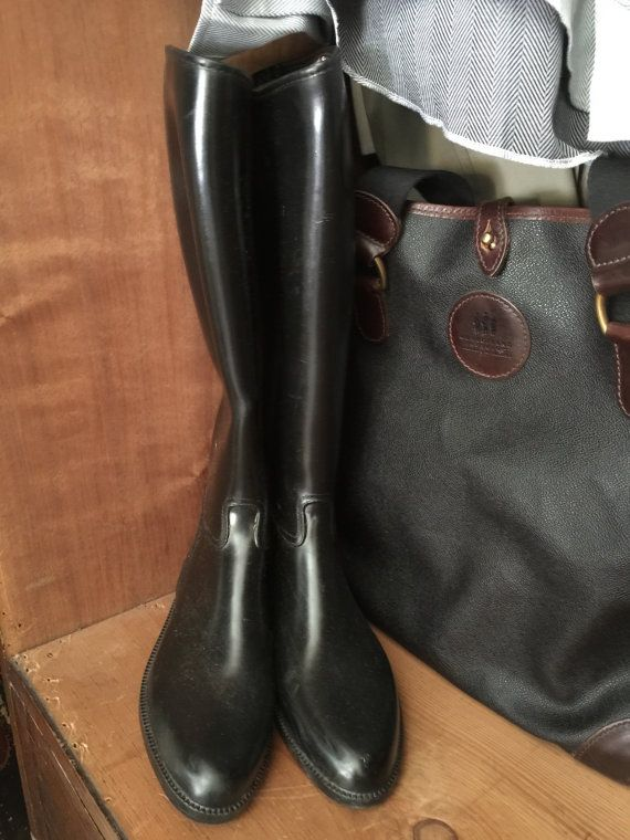 cottage craft equestrian rubber lined riding boots english black rh pinterest com cottage craft horse riding boots cottage craft riding boots south africa