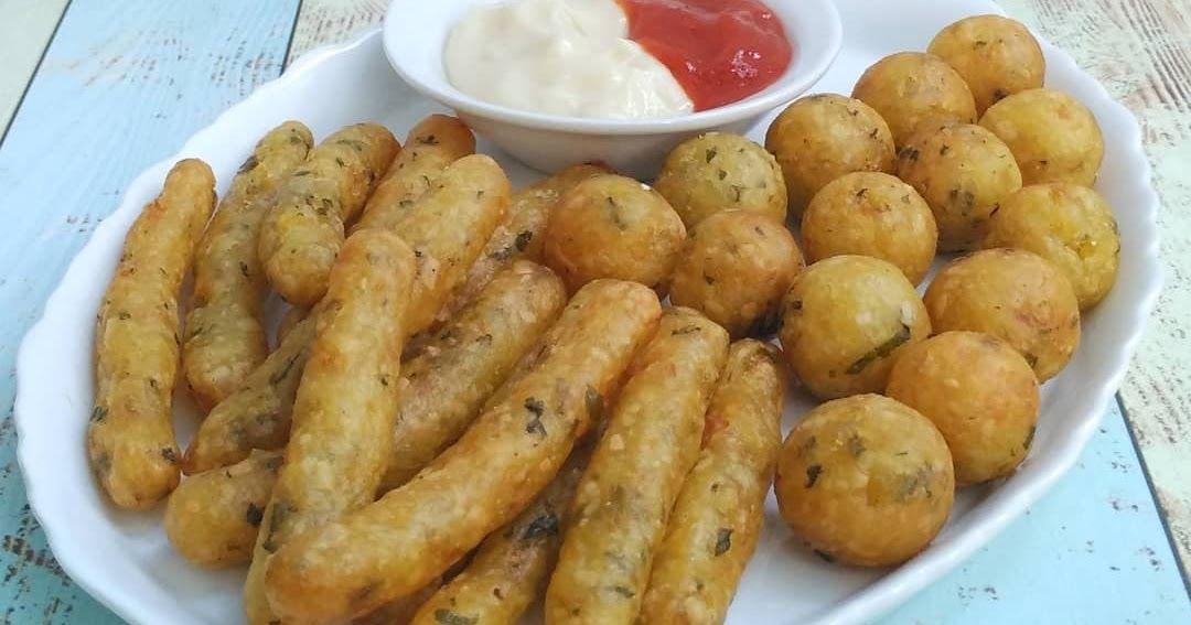Resep Kentang Keju Goreng Ala Resto By Rantie Fidya Kentang Resep Makanan Resep
