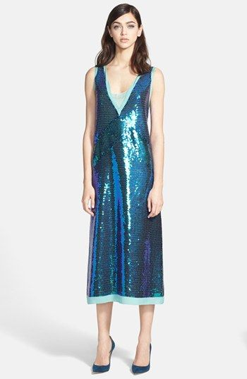 26c9b0bf08bd MARC BY MARC JACOBS  Stelli  Sequin Silk Midi Dress available at  Nordstrom