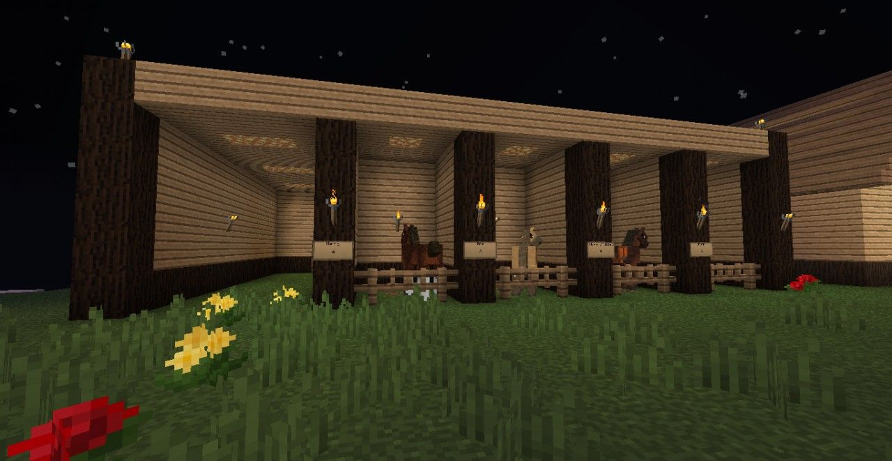 Simply Horses Stables Minecraft Project | Misc | Pinterest ...
