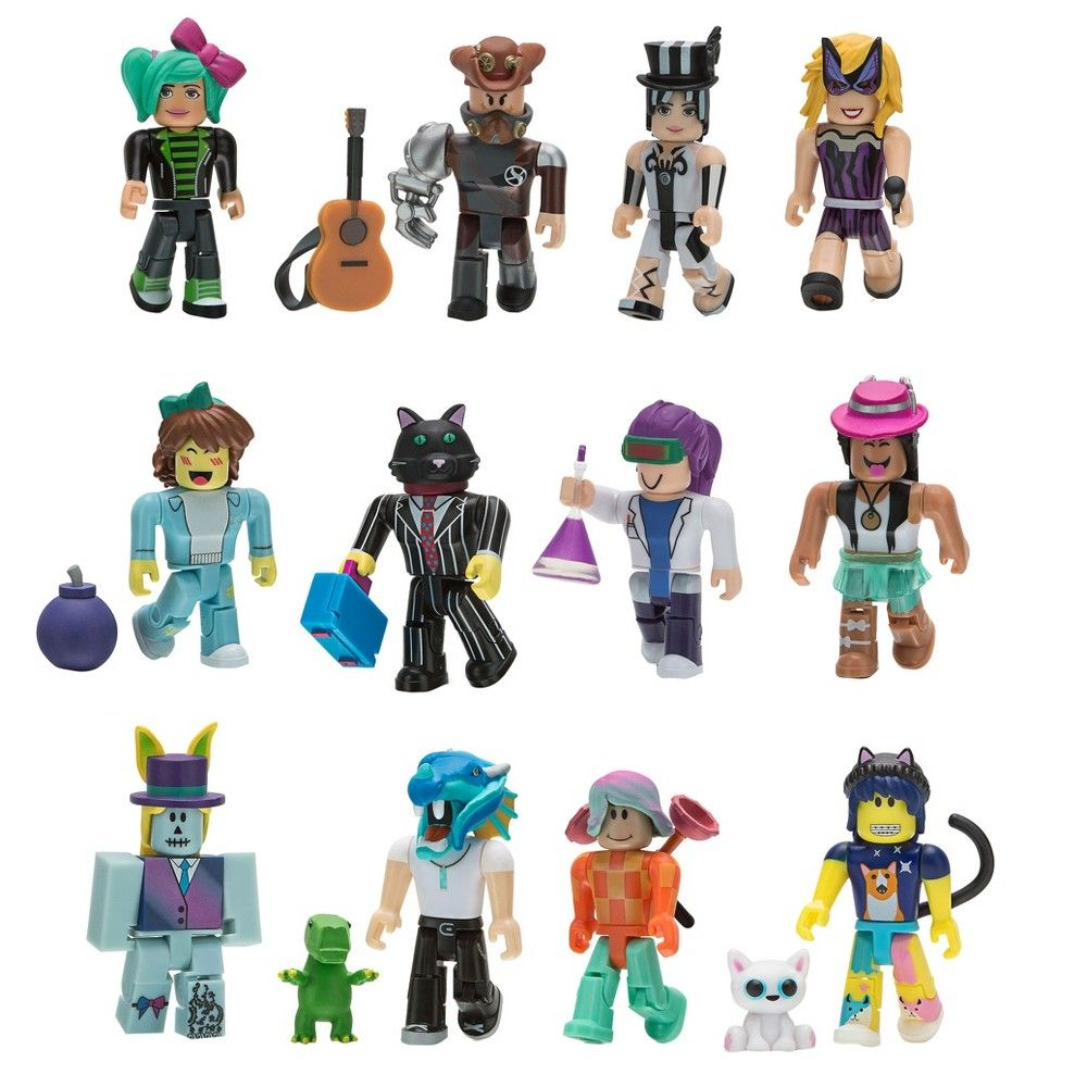 Amazon Com Roblox Gold Series 1 Celebrity Collection Serie 3 4 Roblox Celebrity Collection Series 1 12 Figure Pack Roblox Iconic Characters Action Figures Toys