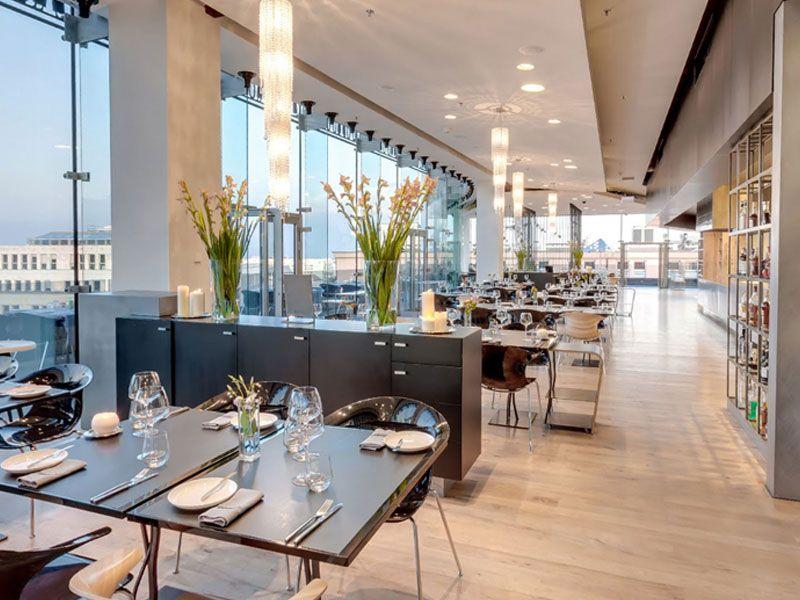 Restauracja Concept 13 Restaurant Home Decor Conference Room Table